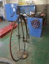Detalj iz Peugeot muzeja u Sochauxu